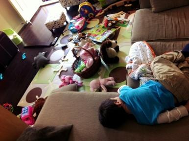 3:15 PM: Crash (room, child)