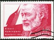 SWEDEN - 1990: Ernest Hemingway, Nobel Laureate in Literature